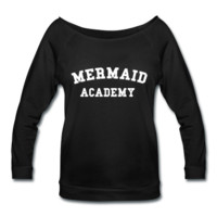 Mermaid Academy, Women's Wideneck Shirt