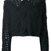 3.1 Phillip Lim open knit sweater