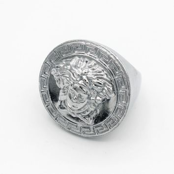 8DESS Versace Men Fashion Accessories Fine Jewelry Ring