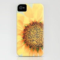 Sunflower Power! iPhone Case by Eddiek3 | Society6