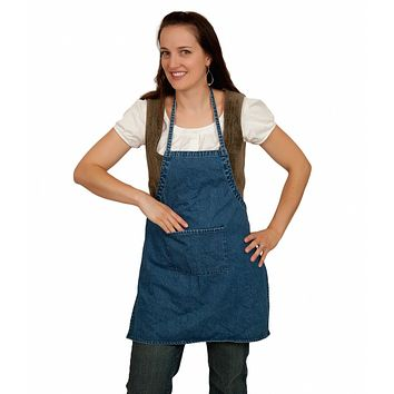 Denim Shop Apron Blank (Child Size)