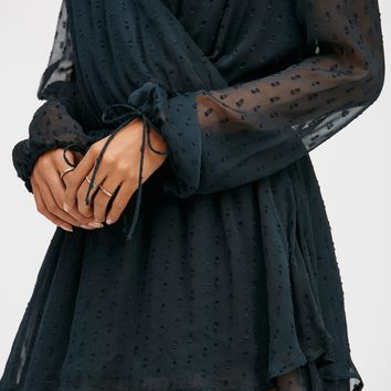 Free People Daliah Dropwaist Mini Dress