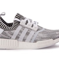 Adidas Men's ORIGINALS NMD_R1 PK PRIMEKNIT Running Shoes White/Black BY1911 b