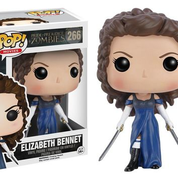 Elizabeth Bennet - Pride and Prejudice and Zombies Funko Pop! Vinyl Figure #266