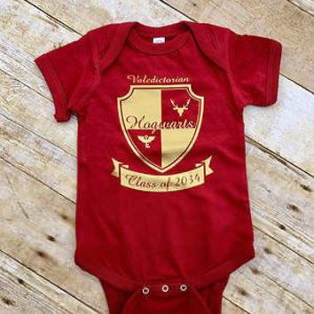 toddler infant 2017 new Cute Newborn Baby Boy Girl Harry Potter Bodysuit Jumpsuit Outfits Clothes
