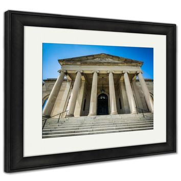 Framed Print, The Baltimore Museum Of Art In Charles Village Baltimore Mary