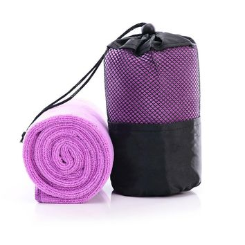Microfiber Ultra Compact Absorbent Fast Drying Towel Sports Towel With Bag Quick-drying Beach Towel Outdoor Camping Travel Towel