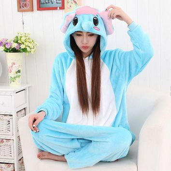 PEAPIX3 Sleepwear Couple Cartoons Animal Home Set Halloween Costume [9220976068]
