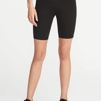 "Mid-Rise Compression Bermuda Shorts for Women (8"")