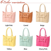Rakuten: Shoulder bag of pretty frill ribbon- Shopping Japanese products from Japan