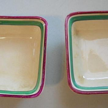 Gray's Pottery Hand Painted Dishes, Vintage British Pottery, 1930s English Collectible Ceramics