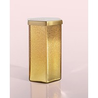 STORE PICKUP ONLY! Gold Glitter Hexagon Candle Volcano Scent
