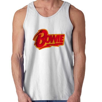 david bowie Red For Mens Tank Top and Womens Tank Top *