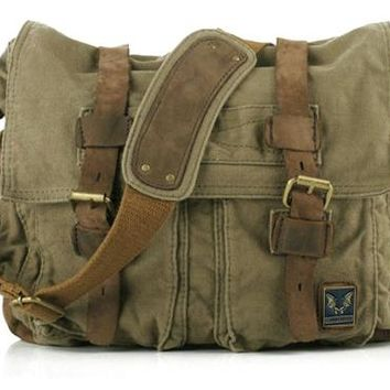 Hot Vintage New Military canvas bags