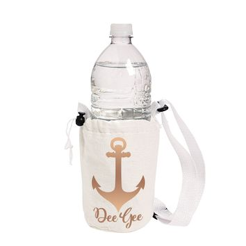 Water Bottle Carry Bag Insulated Choose Sorority by Antique Garden