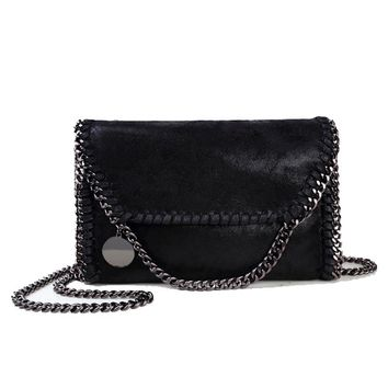 Women Bag Message Bag Pu Leather Fashion Portable star Chain Bag Woven Shoulder bags bolsa feminina carteras mujer star handbags