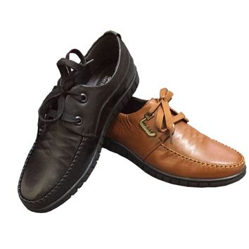 men casual shoes New  Oxfords for Men Genuine Leather Business  Dress  spring and autumn Style breathable  Men Shoes