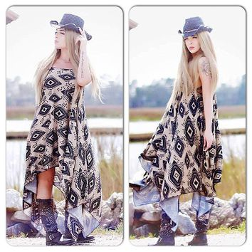 Aztec festival dress, 2018 festival looks dresses, True rebel clothing