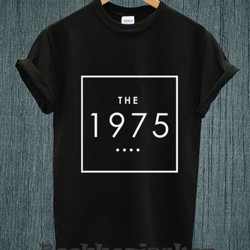 Hot - The 1975 Band Music Tour 2014 Logo Tee Shirt Black and White Unisex Size - Part 1