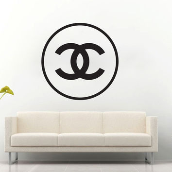Chanel Round Wall Decal