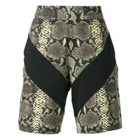 Givenchy snakeskin print bermuda shorts | The Webster