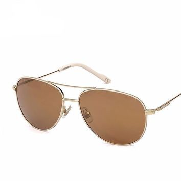 Oval Frame Polarized Unisex Fashion Sunglasses