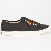Sperry Top-Sider Seacoast Womens Shoes Black  In Sizes