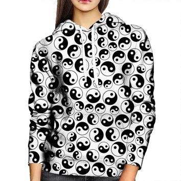 The Yin And The Yang Womens Hoodie