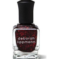 Deborah Lippmann Lacquer in Red