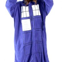 Doctor Who Police Booth Tardis Hooded Kigurumi One Piece Pajama - Doctor Who - | TV Store Online