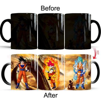 Dragon Ball Z Color Changing Magic Mugs