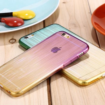 New Unique Laser Transparent iPhone 7 7Plus & iPhone 6s 6 Plus Cases + Gift Box