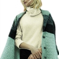 Line Cove High Low Turtleneck Sweater | ShopAmbience