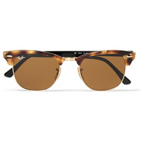 Ray-Ban - Clubmaster Tortoiseshell Acetate and Metal Sunglasses | MR PORTER