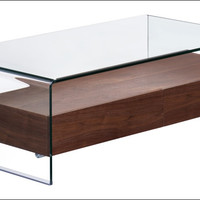 Zuo Shaman Coffee Table Walnut 404066