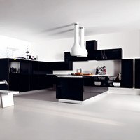 Fitted kitchen ARIEL by CESAR ARREDAMENTI | design Gian Vittorio Plazzogna