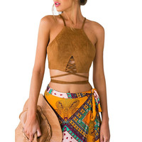 Hippie Boho Cropped Top