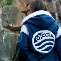 Water Tribe -- FLEECE Avatar: The Last Airbender Legend of Korra Hoodie / Sweatshirt