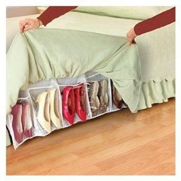 Storage Dynamics Shoes Away Hidden Organizer
