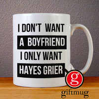Hayes Grier Magcon Ceramic Coffee Mugs