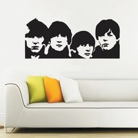 Beatles Decal Beatles wall decal by walldecors on Etsy