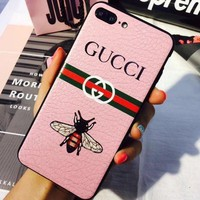 PEAPNQ2 gucci bee iphone phone cover case for iphone 6 6s 6plus 6s plus 7 7plus