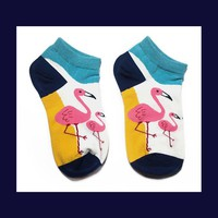 Flamingo Socks|Pattern B
