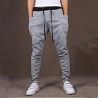 Unique Pocket Mens Jogger Pants