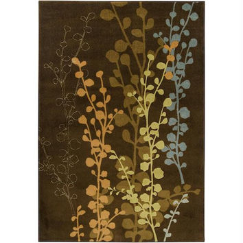 Area Rug - 7.85' X 10' - Colors Include Cumin,pigeon Gray,acorn Squash And Russet