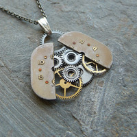 Steampunk Pendant Ladybug Abstract by amechanicalmind on Etsy