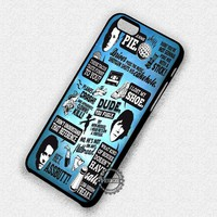 Supernatural Collage Art Galaxy Quote - iPhone 7 6 5c 5s SE Cases & Covers