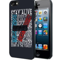 Twenty One Pilots Lyric Samsung Galaxy S3 S4 S5 Note 3 , iPhone 4 5 5c 6 Plus , iPod 4 5 case