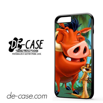 Timon And Pumba DEAL-11255 Apple Phonecase Cover For Iphone 6 / 6S