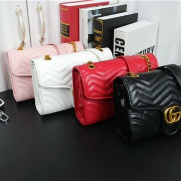 GUCCI tide brand female chain bag shoulder bag